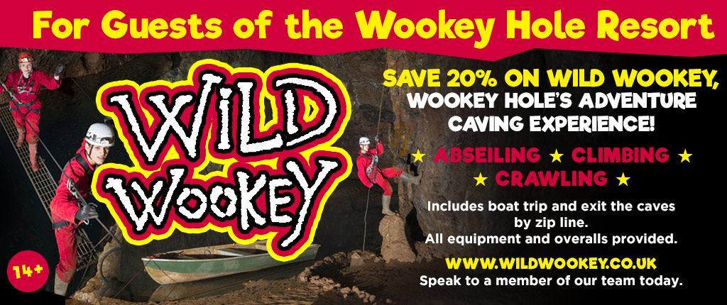 wild wookey hotel offer 2018